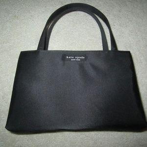 Kate Spade Women's Black Satin Evening Bag
